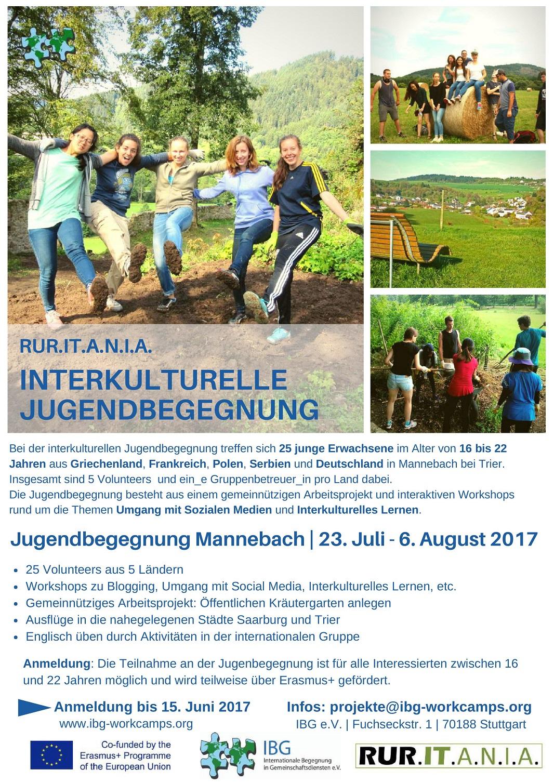 Interkulturelle Jugendbegegnung 1