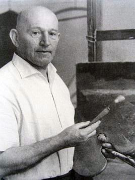 Maler Wilhelm Kimmich