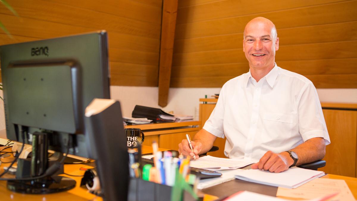 Bürgermeister Norbert Swoboda