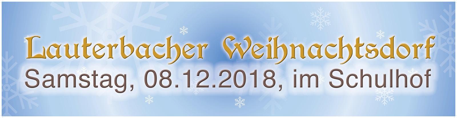 Einschuber Weihnachtsdorf