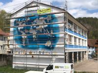 Fassade Grund- und Hauptschule