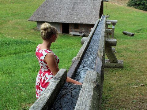 Jeannine an der Mooswaldmühle 2018