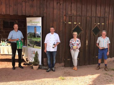 Gruppenfoto Eröffnung Genießer-Bierwegle