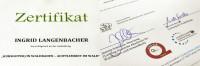 Waldbaden Zertifikat von Ingrid Langenbacher